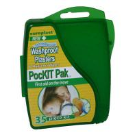 PocKit Pak First Aid Washproof Plaster Kit