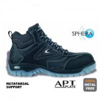 Regae S3 Safety Boot Metal Free Composite Toe & Midsole with Metatarsal Support