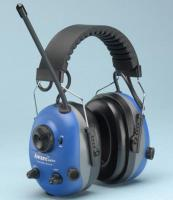 AM/FM Radio Earmuffs Aware™ Push to Hear Outside Noise FREE SAFETY GLASSES