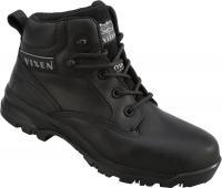 Ladies Waterproof Safety Non Metallic Boot Black Onyx VX950A
