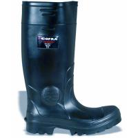 Safety Wellington Boot Tanker also in Ladies Sizes Black