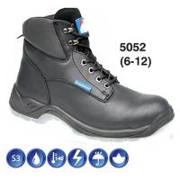 Black Full Grain Leather Safety Boot S3 5052