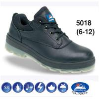 Black Leather Safety Shoe S3