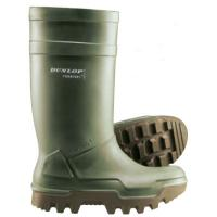Purofort Thermo Insulated Green Safety Wellington S4