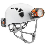 TRIOS Caving helmet with ultra-powerful torch, 4 lighting modes and ACCU 2 rechargeable battery