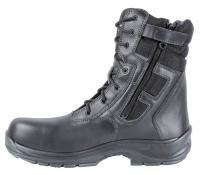 VETERAN Metal Free Safety Boot Black with side ZipS3 HRO SRC