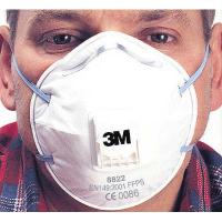 8822 Cup-Shaped Valved Dust/Mist Respirator