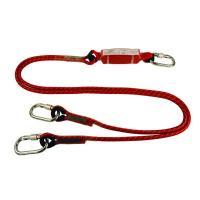 Vertex 8120 Fall Protecion Twin Leg Energy Absorbing Rope Lanyard
