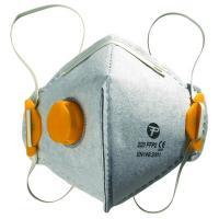 RP10  Valved Odour V-Fold Flat Disposable Respiratory Masks