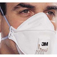9322 Foldable Valved Dust &Mist Respirator