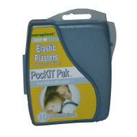 PocKit Pak First Aid Elastic Adhesive Plaster Kit